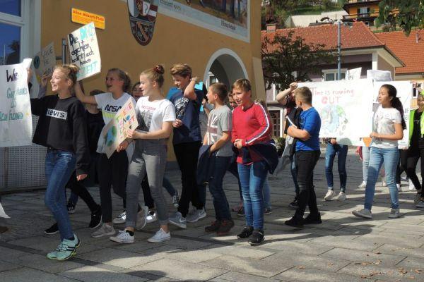Demonstration Klimawandel